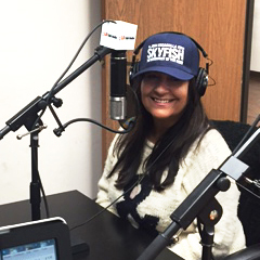 Carmela on the Radio Show